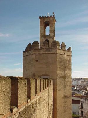 Torre de Espantaperros desde la Alcazaba
