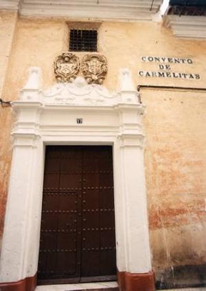 Puerta del Convento de las Carmelitas