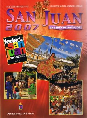 San Juan 2007. La feria de Badajoz. Revista oficial del ayuntamiento de Badajoz