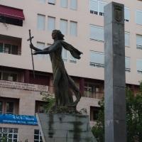 Estatua Extremeños Universales