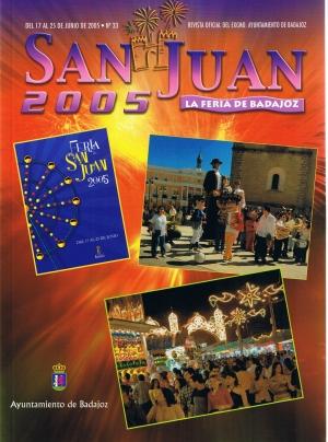 San Juan 2005. La feria de Badajoz. Revista oficial del ayuntamiento de Badajoz