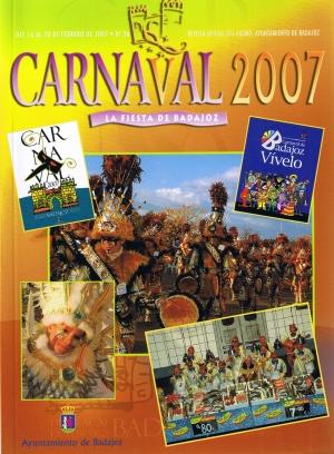 Carnaval 2007. La fiesta de Badajoz. Revista oficial del ayuntamiento de Badajoz