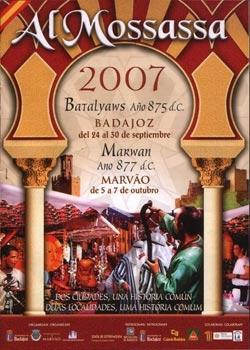 Cartel de Almossassa 2007