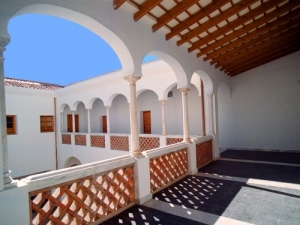 Claustro del Museo de la Ciudad