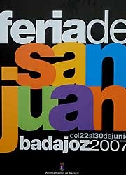 Cartel Feria de San Juan 2007