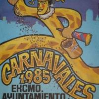 Cartel Carnaval 1985