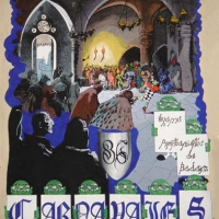 Cartel Carnaval 1986