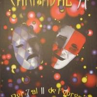 Cartel Carnaval 1997