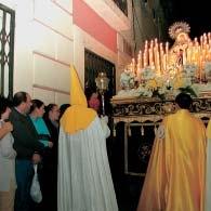 MARÍA SANTÍSIMA DE LOS DOLORES. Talla anónima S. XVII. FOTO: María José Montero