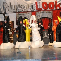 Actuación en el concurso de murgas