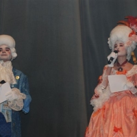 Presentadores del concurso de murgas