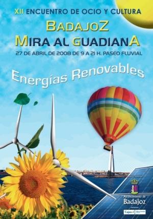 Cartel Mira al Guadiana 2008