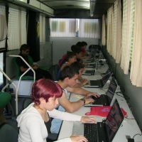 Cyberbus. Vive la Noche en Badajoz
