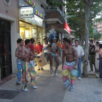 Pasacalles. Vive la Noche en Badajoz