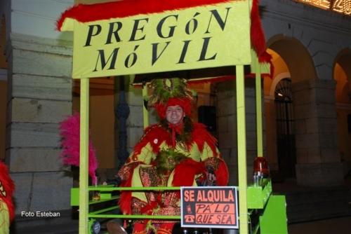 Preg�n Carnaval 2009: Carlos Eugenio Garc�a