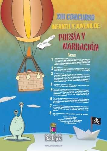 Infantil y Juvenil de Poesía y Narración - Ayuntamiento de Badajoz