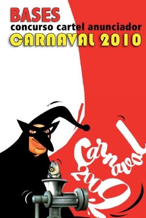 Portada Bases Concurso Cartel Carnaval 2010