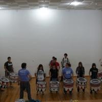 Curso de percusión.
