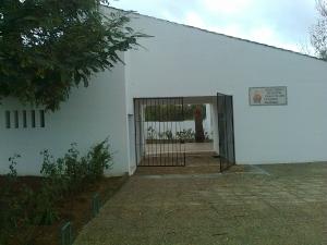Puerta principal del Cementerio de Valdebótoa.