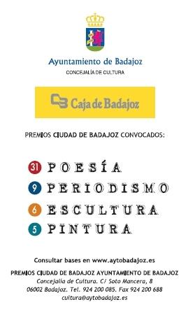 Premios Ciudad de Badajoz 2012