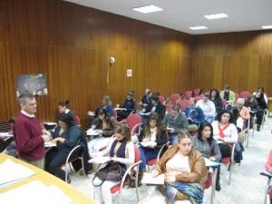 OCTUBRE 2012.-  Sesión grupal preselección