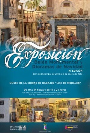 Cartel Exposición dioramas