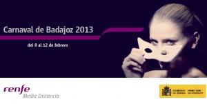Renfe Carnaval Badajoz 2013