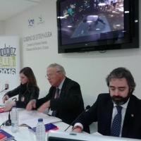 Presentación de la candidatura en FITUR 2013.