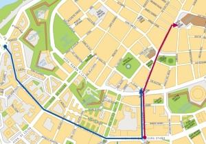 Mapa Desfiles Carnaval