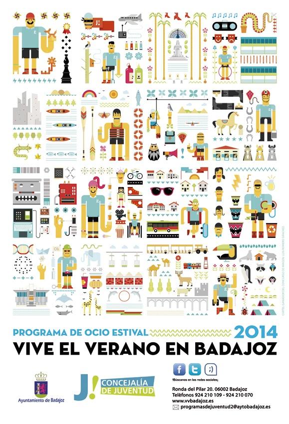 Vive el verano en Badajoz 2014