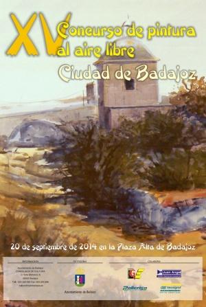 XV Concurso de pintura al aire libre Ciudad de Badajoz