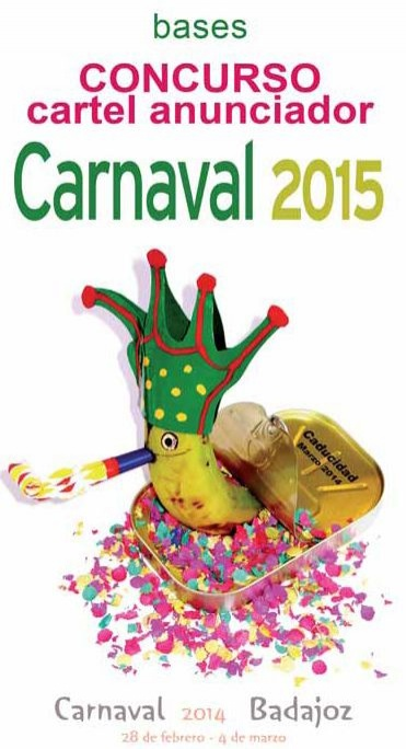Bases del concurso del cartel anunciador del Carnaval 2015