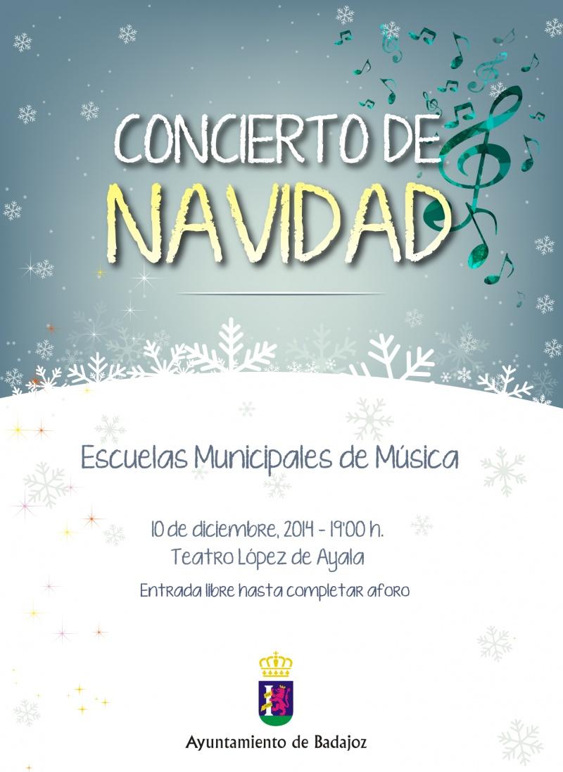 Escuelas de M�sica: Concierto de Navidad