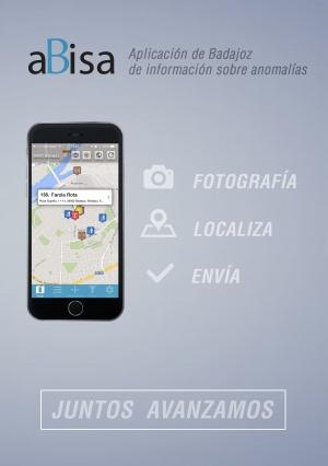 aBisa Aplicación de Badajoz de información sobre anomalías