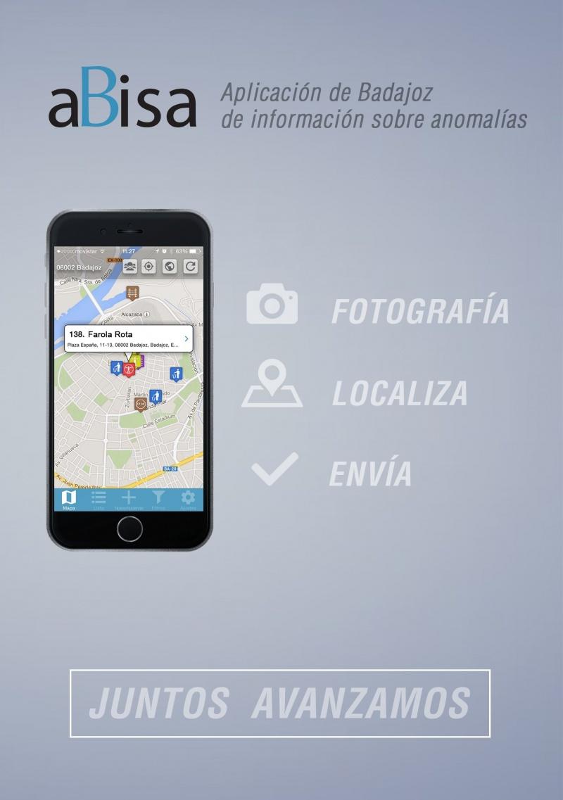 aBisa Aplicaci�n de Badajoz de informaci�n sobre anomal�as