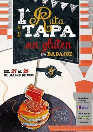 I Ruta de la Tapa sin Gluten de Badajoz