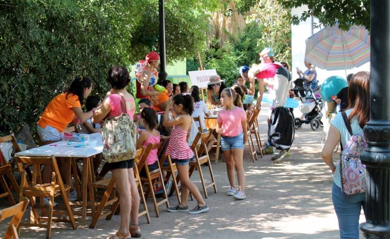 Comienzo de actividades infantiles en el Parque de Castelar.
