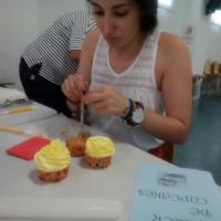 Taller Cupcakes Valdebótoa y Sagrajas. - 4