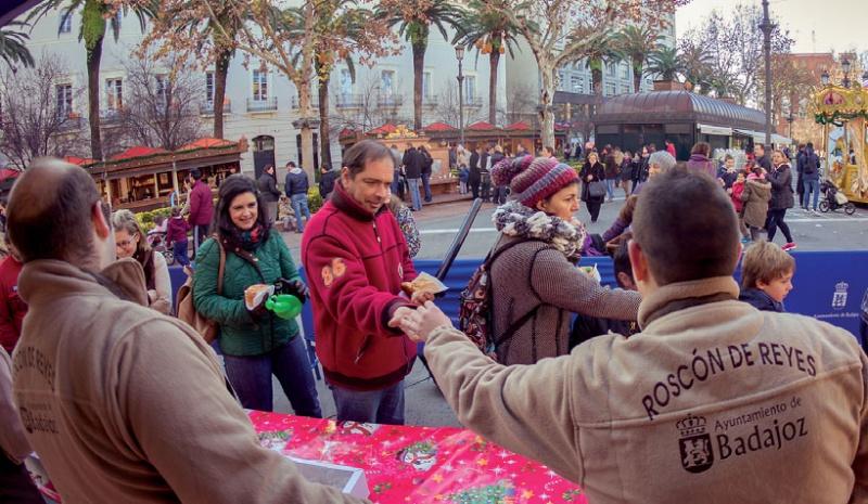 Rosc�n de Reyes y chocolate