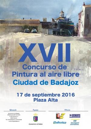 Imagen Cartel XVII Concurso Pintura al aire libre