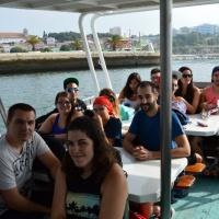 Paseo con delfines. Estuario do Sado. - 0