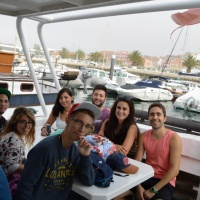 Paseo con delfines. Estuario do Sado. - 2