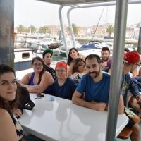 Paseo con delfines. Estuario do Sado. - 5