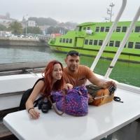 Paseo con delfines. Estuario do Sado. - 13