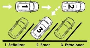 estacionamiento en espiga