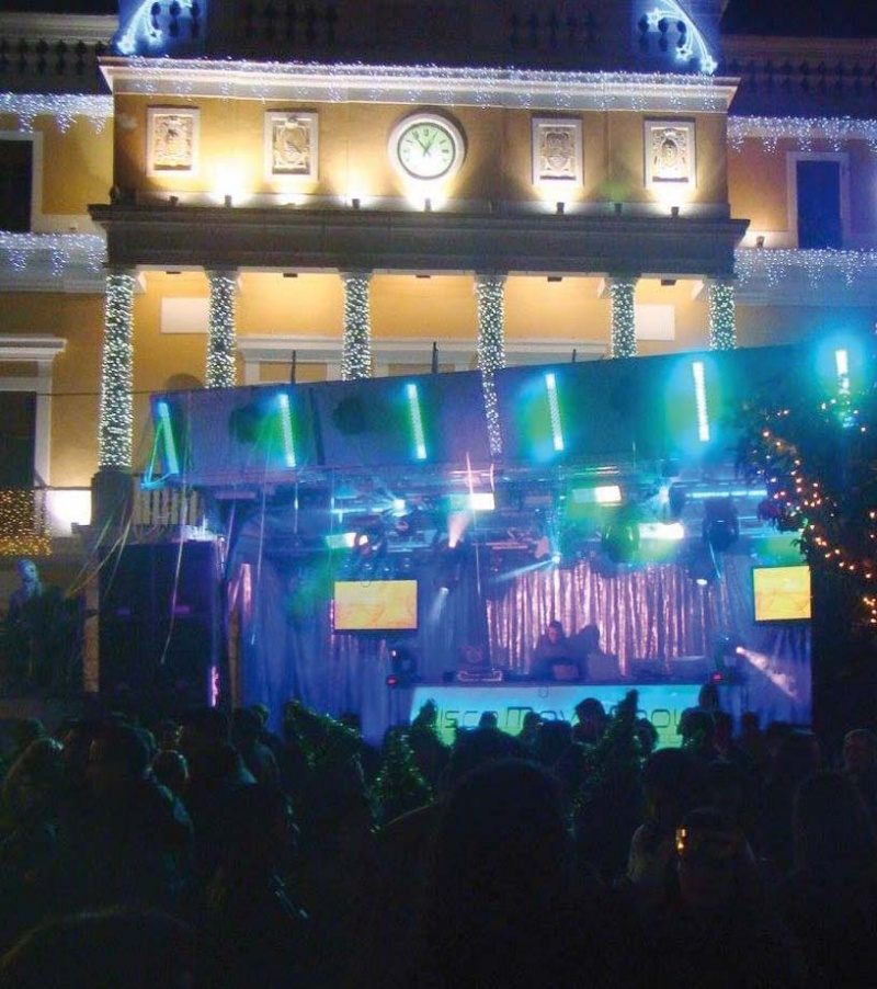 Nochevieja en San Juan