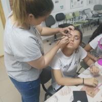 Taller de maquillaje en Sagrajas y Gévora. - 1
