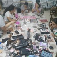 Taller de maquillaje en Sagrajas y Gévora. - 3