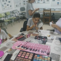 Taller de maquillaje en Sagrajas y Gévora. - 4
