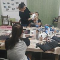 Taller de maquillaje en Sagrajas y Gévora. - 6